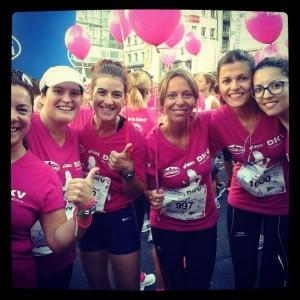 con el grupo Erika Pilates Center de Lugo