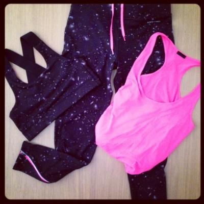 Workout Outfit Oysho Gymwear 2013