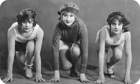 Vintage Workout Outfit