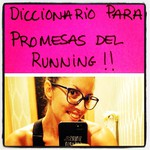 Diccionario Kiss After Running para promesas del running