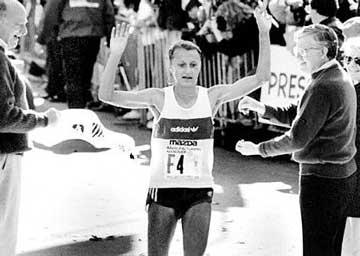 Grete Waitz, 9 veces campeona del maratón de Nueva York
