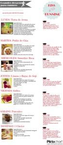siete recetas de desayunos fit para corredores