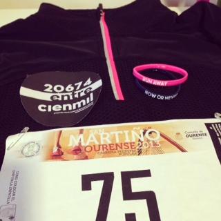 Mis primeros 10k en la Carrera San Martiño Ourense 2013