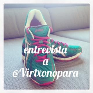 Descubre a @Virtxonopara como la estupenda corredora montaña que es