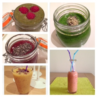 5 smoothies healthy