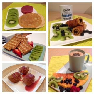 Recetas desayunos healthy sin avena