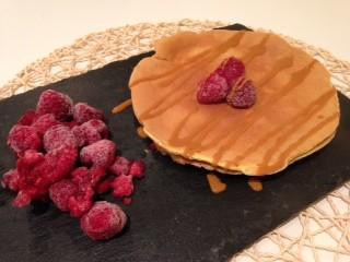 Tortitas proteicas de vainilla