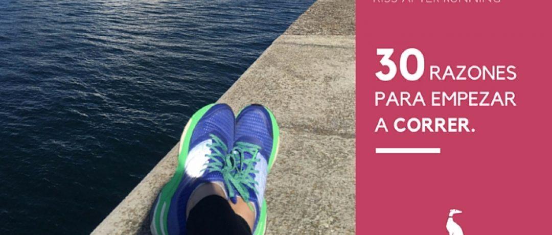 30 razones para empezar a correr